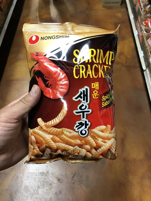 Nong Shim Shrimp Crackers - Hot - Eastside Asian Market