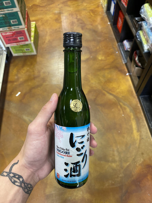 Sho Chiku Bai Nigori Sake (must show ID) 375ml - Eastside Asian Market