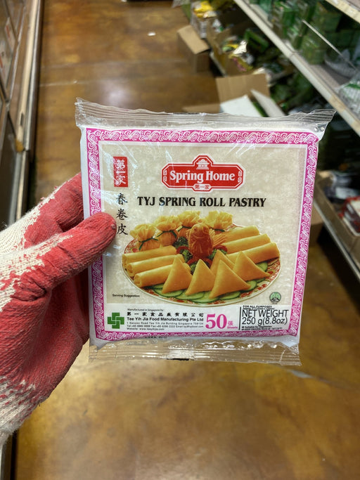 "Spring Home Spring Roll 5"" Wrapper - Eastside Asian Market"