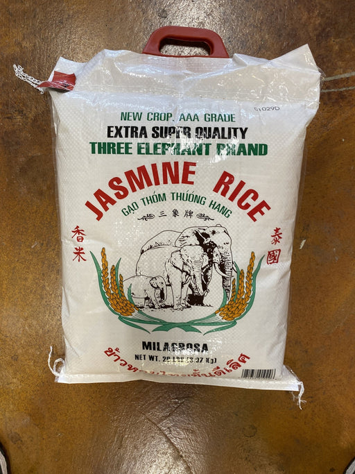Three Elephant Jasmine Rice - Eastside Asian Market