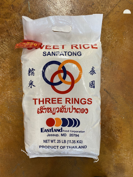 Three Rings Sweet Rice - Eastside Asian Market