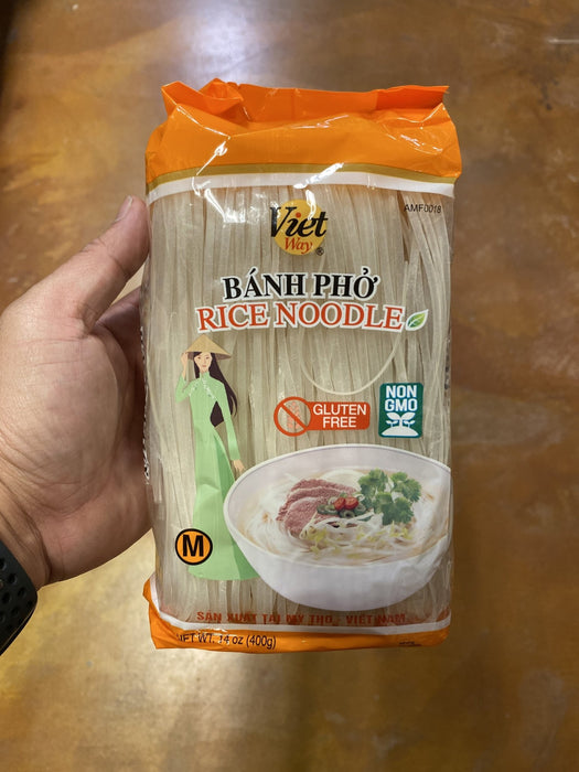 Viet Way Rice Noodle - M, 14oz - Eastside Asian Market