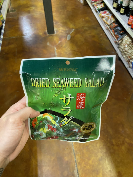 Welpac Dried Seaweed Salad - Eastside Asian Market