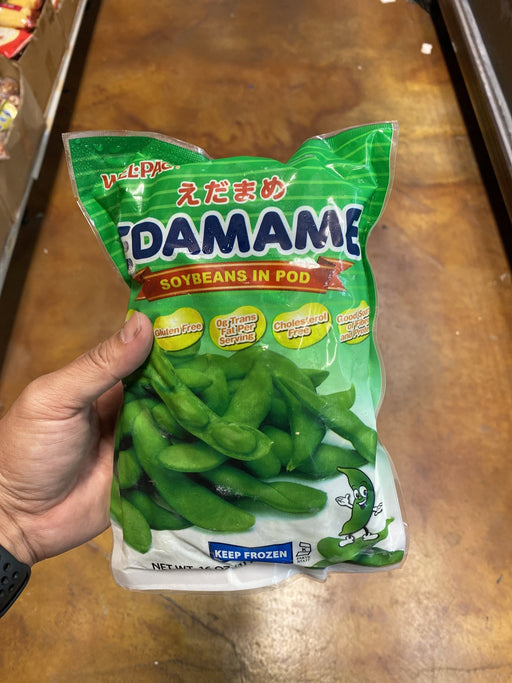 Welpac Edamame Soy Bean in Pod Fzn - Eastside Asian Market