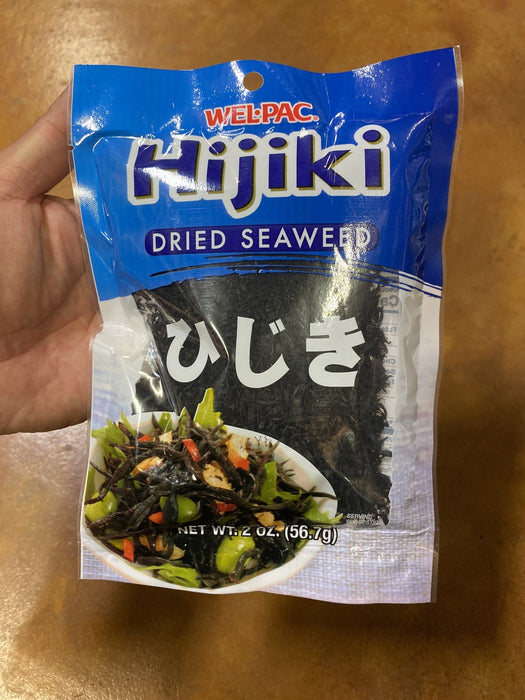 Welpac Hijiki Seaweed, 2oz - Eastside Asian Market