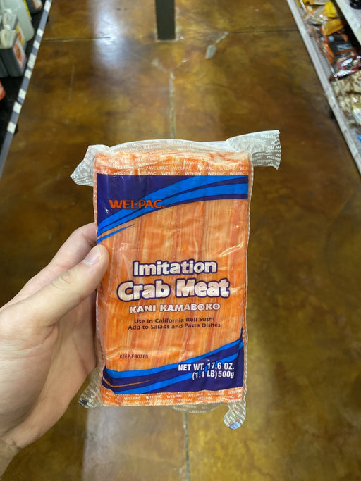 Welpac Imtn Crab Meat Kanikama, 17.6oz - Eastside Asian Market