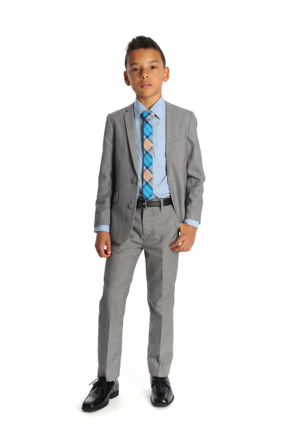 Appaman Mist Grey Mod Suit