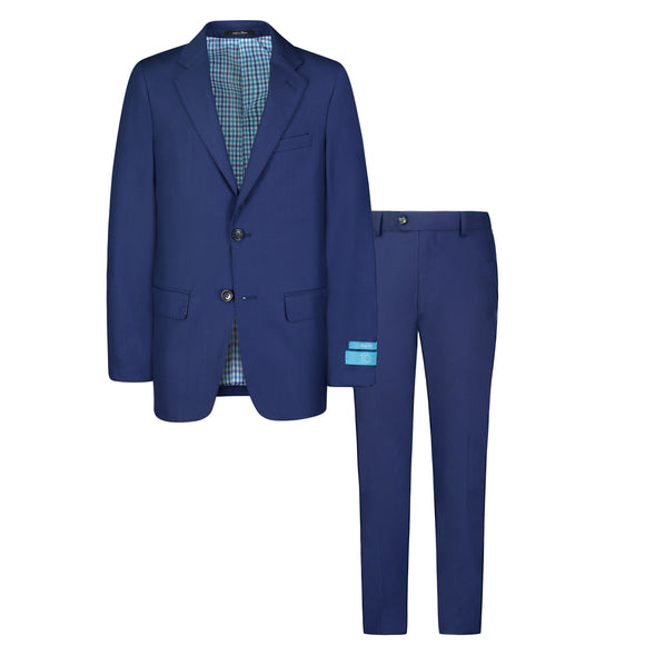 T.O. Collection Cobalt Blue Suit