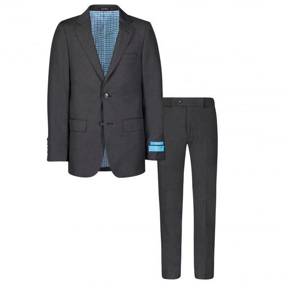 T.O. Collection Charcoal Grey Suit