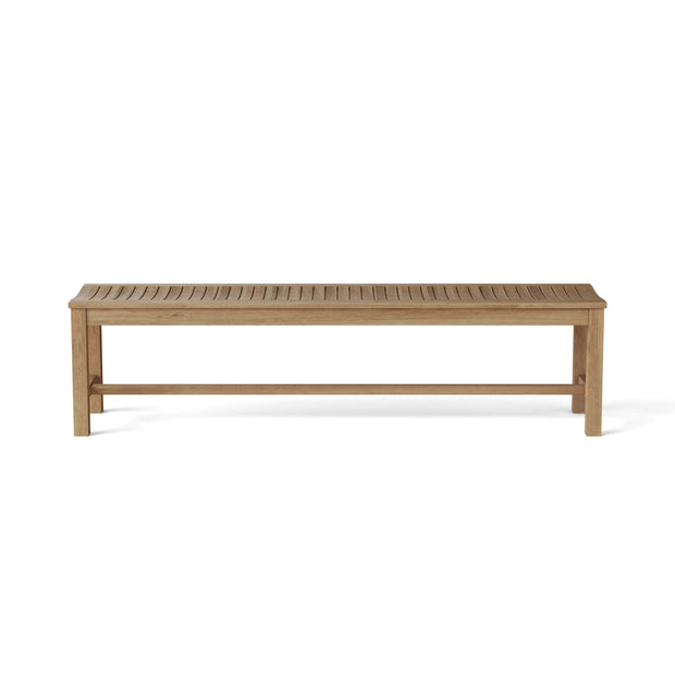 Casablanca 4-Seater Backless Bench