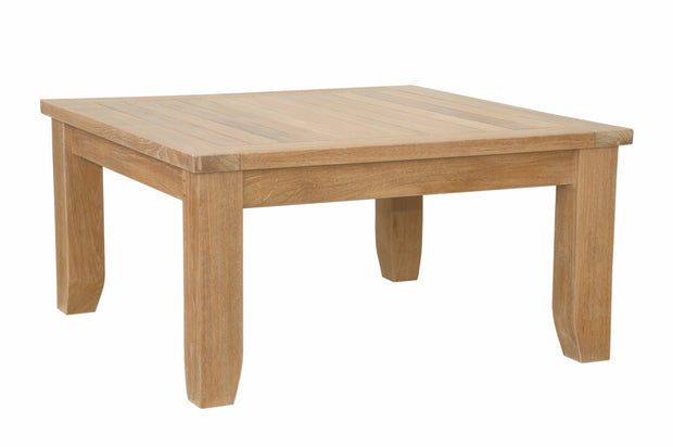 "Luxe 33"" Square Coffee Table"