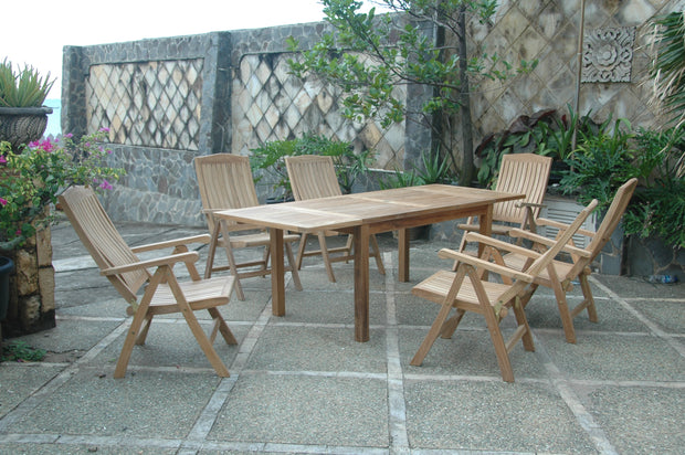 Bahama Katana 7-pc Dining Table Set