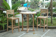 Mandalay 3-pc Bar Table Set