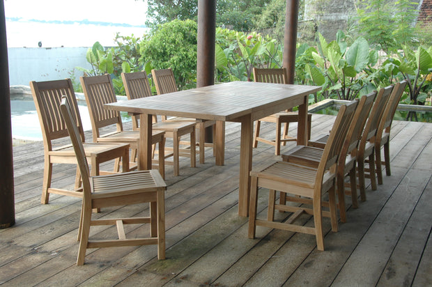 Bahama Rialto 11-pc Dining Table Set