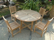 Tosca Sonoma 5-pc Dining Table Set