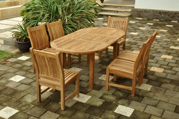Bahama Sahara 7-pc Dining Table Set