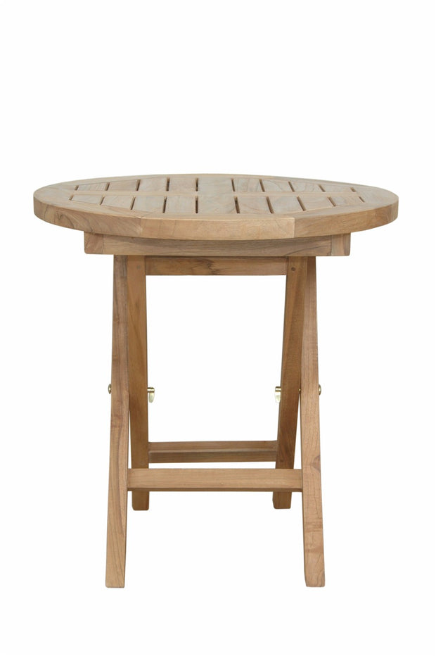 "Montage 20"" Round Side Folding Table"
