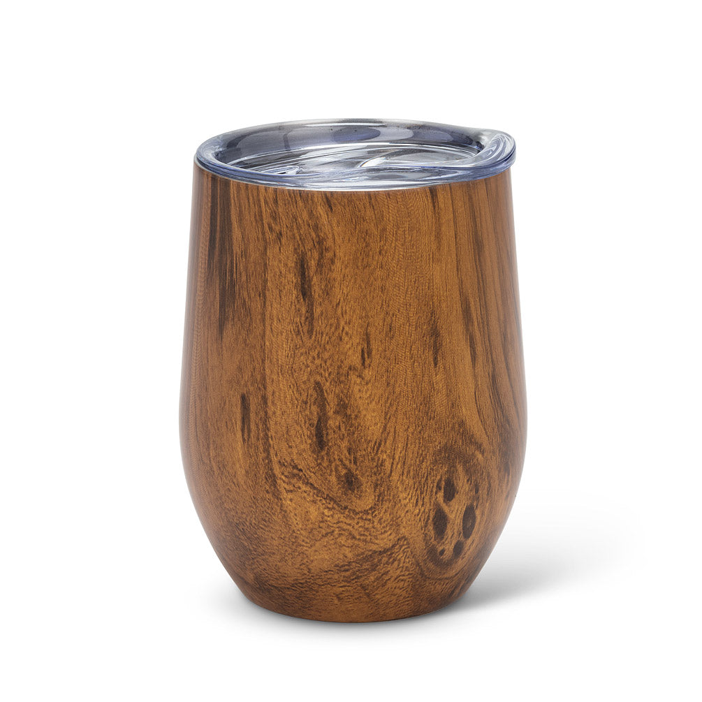 Wood Look Insulated Wine Tumbler