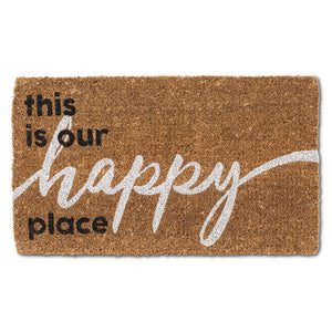 Graphic Happy Place Doormat