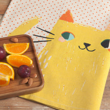 Load image into Gallery viewer, Meow Meow Teatowel 2 Piece Set