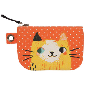 Small Meow Meow Zipper Pouch