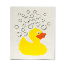 Load image into Gallery viewer, Rubber Ducky Dishcloths