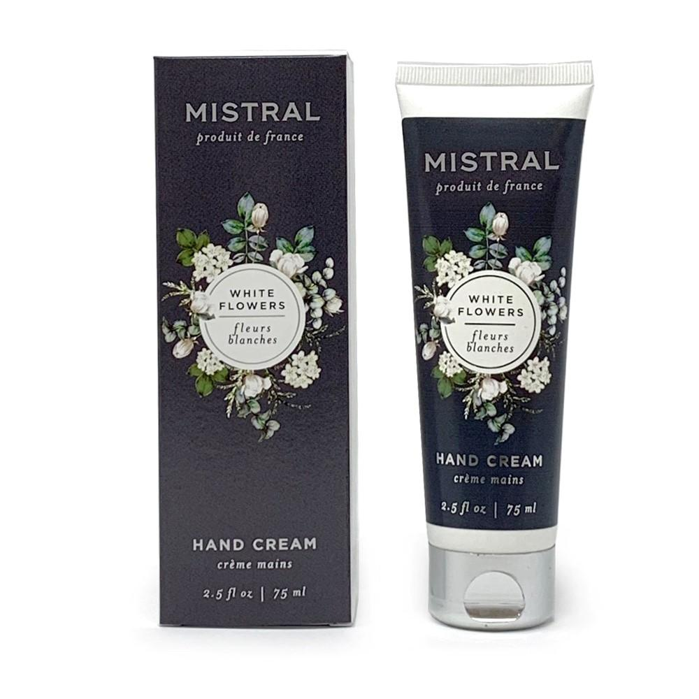 White Flowers Hand Cream