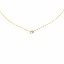 Load image into Gallery viewer, Solitaire Necklace - Gold