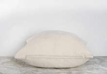 Load image into Gallery viewer, Ecru Fleece Pillow