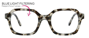 Jet Set - Grey Tortoise Reading Glasses