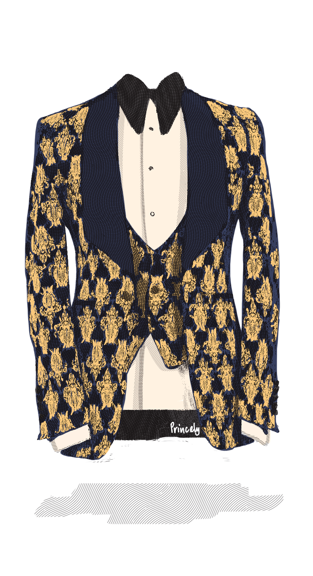 Tuxedos & Dinner Jackets - Princely Suits | Indian Wedding Suits Australia