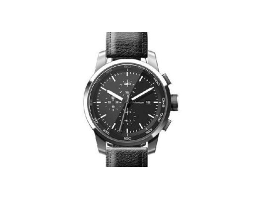 VW Chronograph Watch - Black/Stainless Steel