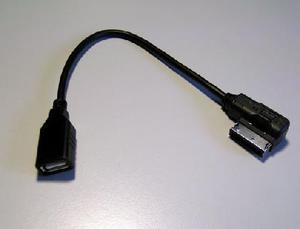 VW Adapter for Multimedia Plug Media-IN for USB