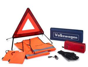 VW Volkswagen Breakdown Kit with Warning Triangle and Safety Vests