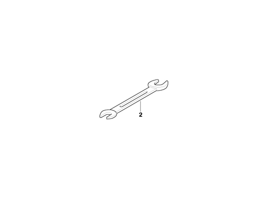 BMW Genuine Open End Spanner 10-13