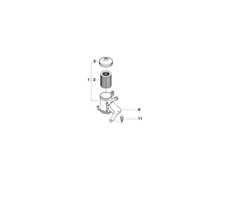 BMW Genuine Fuel Filter Element