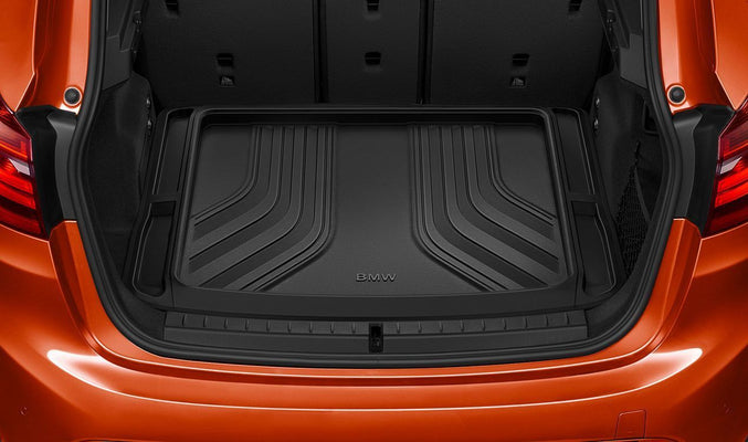 BMW Genuine Luggage Compartment Mat Boot Trunk Cargo Liner Black
