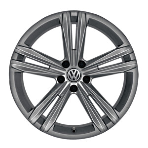 "VW 16"" Sebring Galvano Grey Metallic Alloy Wheel"