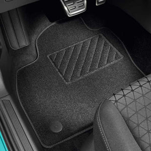 "VW Front and Rear ""Plus"" Textile Floor Mats"