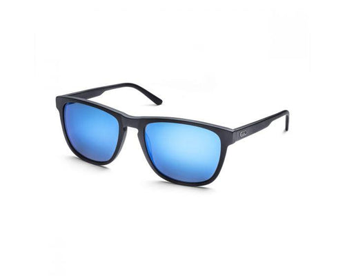 Audi Unisex Blue and Black Sunglasses