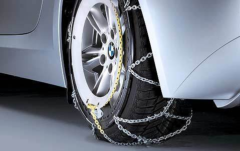 BMW Genuine Snow Chain System Rud-Matic