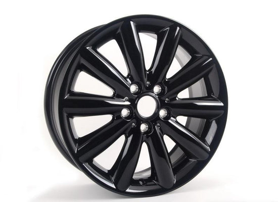 "MINI Genuine 17"" Light Alloy Rim Cosmos Spoke Black"