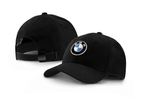 BMW Genuine Collection Emblem Logo Peaked Cap Black