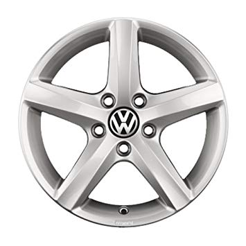 "VW 16"" Aspen Brilliant Silver Alloy Wheel - ET 48"