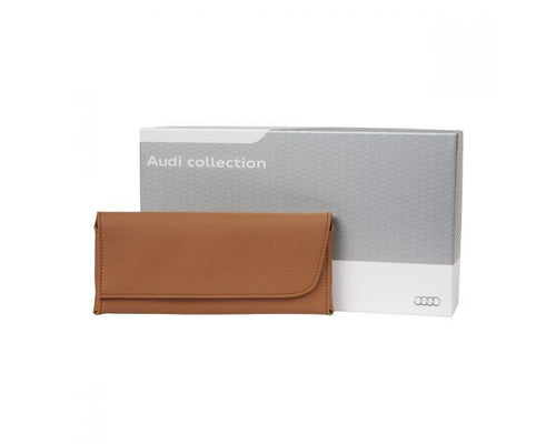 Audi Poltrona Frau Leather Glasses Case