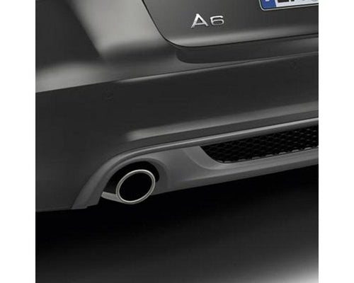 Audi Single Left and Right Sport Tailpipe Trim for Audi A6 Models with 4-cylinder engines