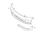 MINI Genuine JCW Front Bumper Spoiler Extension Black