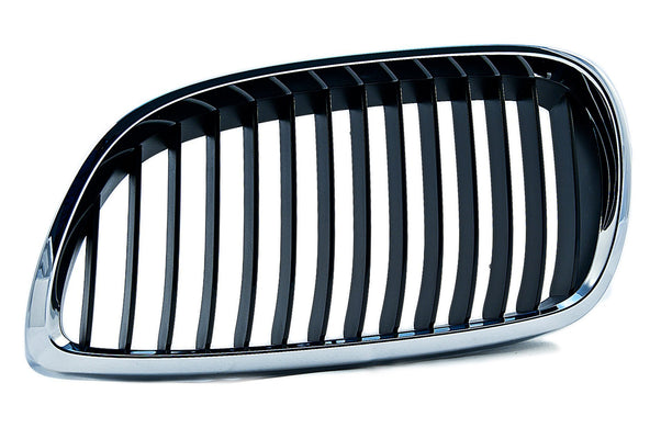 BMW Genuine Front Left Kidney Grille with Chrome Frame