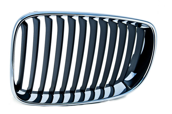 BMW Genuine Front Right Kidney Grille with Chrome Frame