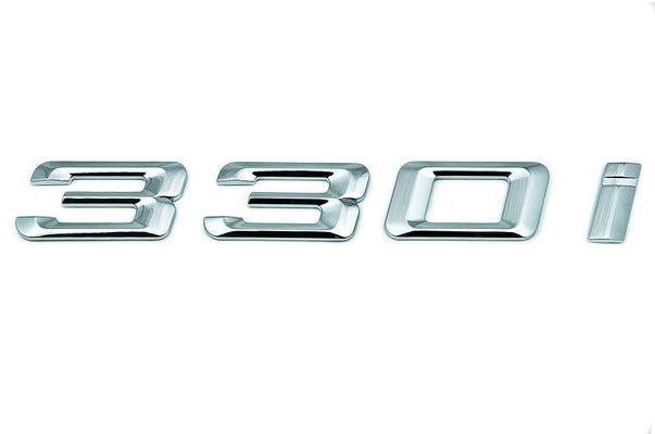 "BMW Genuine ""330i Self-Adhesive Sticker Badge Emblem"